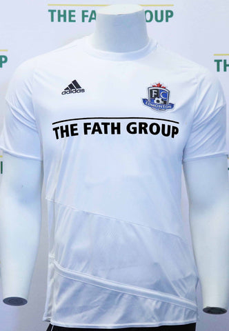 FC Edmonton 2016 Official Warm Up Jersey ( White )