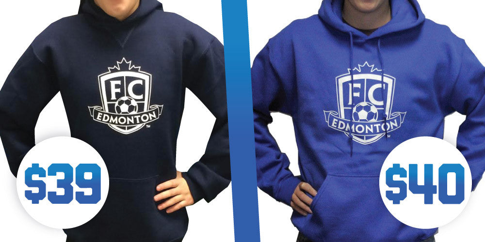 Youth / Adult FC Edmonton Hoodies