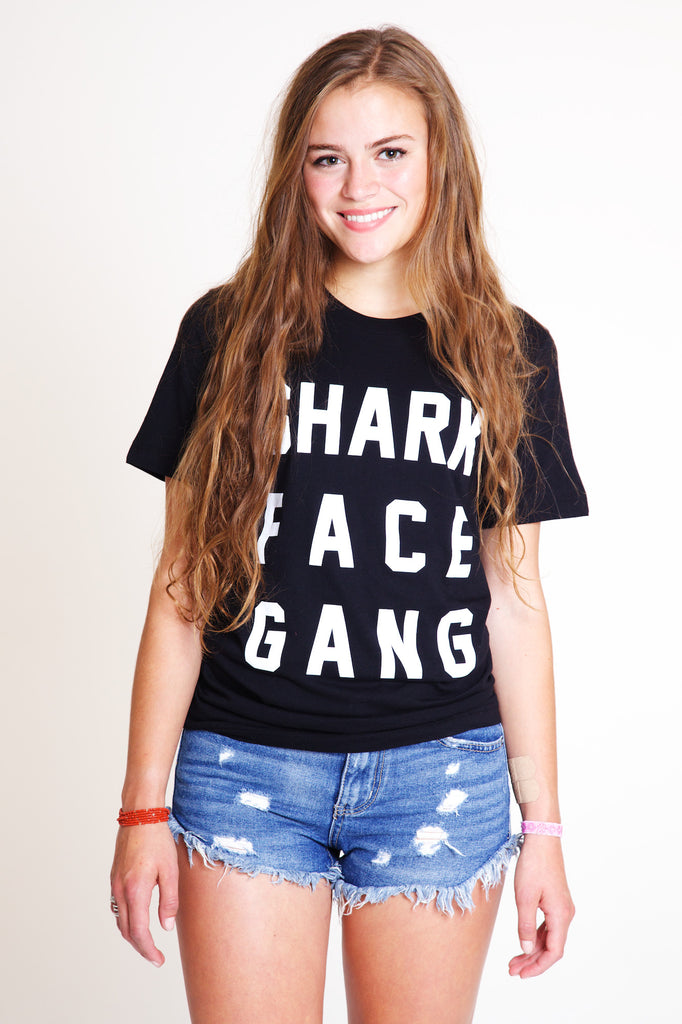 Vintage 70's Shark Face Gang T-Shirt