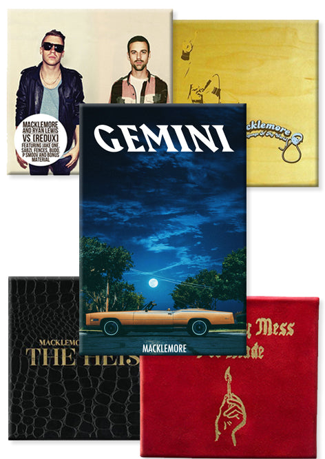 GEMINI Deluxe + Macklemore Discography | Savings $40