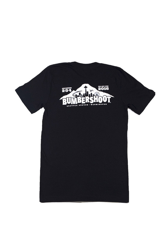 Bumbershoot 2016 Script T-Shirt | Savings $10