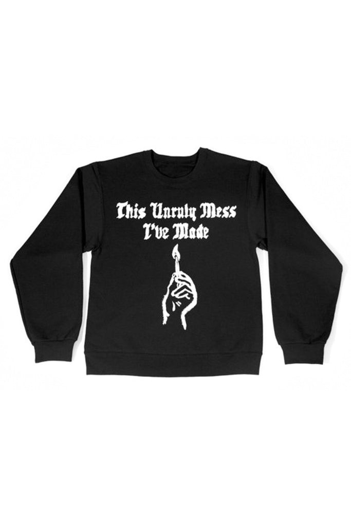 Match Crewneck w/ US 2016 Tour Dates