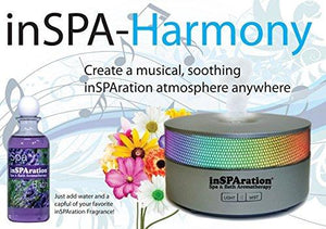 InSPAration Harmony Bluetooth Aromatherapy Diffuser - Hot Tub Outfitters