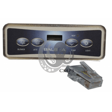 Load image into Gallery viewer, Balboa VL401 Keypad Topside (includes the overlay sticker) Balboa 54094 Balboa 52424 - Hot Tub Outfitters