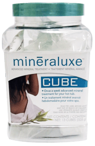 Mineraluxe 13 Cubes - Hot Tub Outfitters