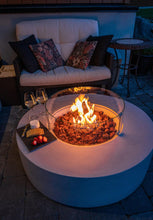 Load image into Gallery viewer, Carter Circle Fire Pit Light Grey  available now while stock lasts
