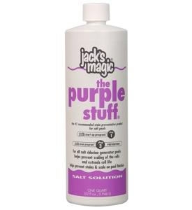 Salt Solution – The Purple Stuff - Hot Tub Outfitters