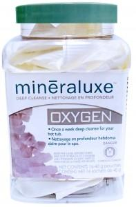 Mineraluxe Oxygen 12 Pouches - Hot Tub Outfitters