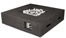 Load image into Gallery viewer, Nash Square Fire Pit Dark Grey  (presale now for February 2021 arrival) - Hot Tub Outfitters
