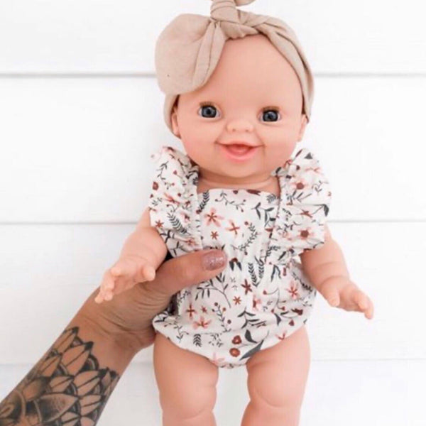 Ready to ship // Little Nordic Girl: Minikane Doll