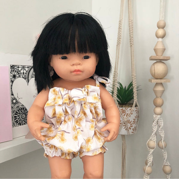 Ready to ship // Bubble Romper: Minikane/PR & 38cm Miniland (Available in multiple fabrics)