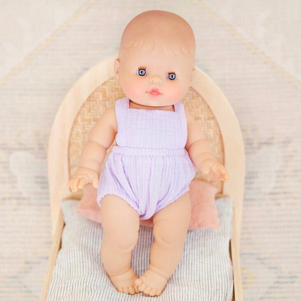 Ready to ship // Blake Romper: 38cm Miniland & Paola Reina/Minikane (Available in multiple colours)