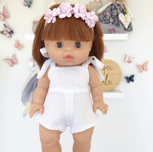 ON SALE Ready to ship // Sky Romper: To fit 38cm Miniland & PR/Minikane (Available in 3 colours)