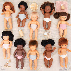 Dolly undies: To fit 38cm Miniland, Paola Reina and Minikane