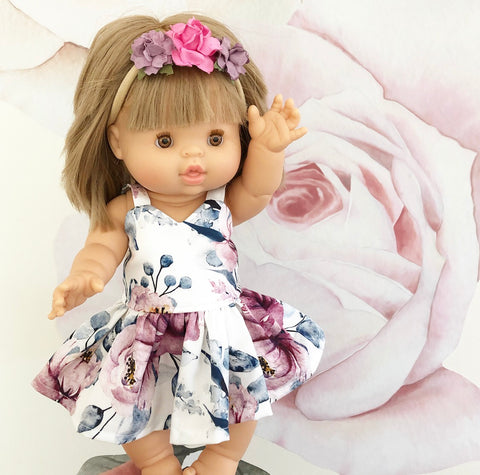Ready to ship // Lucy Dress: Minikane Doll (Available in multiple different fabrics)