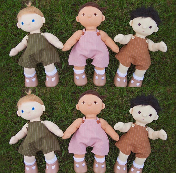 ON SALE Ready to ship  // Charlie Overalls: Dinkum Doll (Olliella) (Available in two colours)