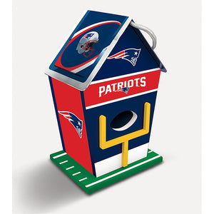 New England Patriots Birdhouse