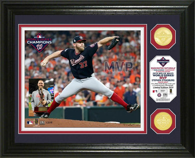 Stephen Strasburg Washington Nationals 2019 World Series MVP Bronze Coin Photo Mint