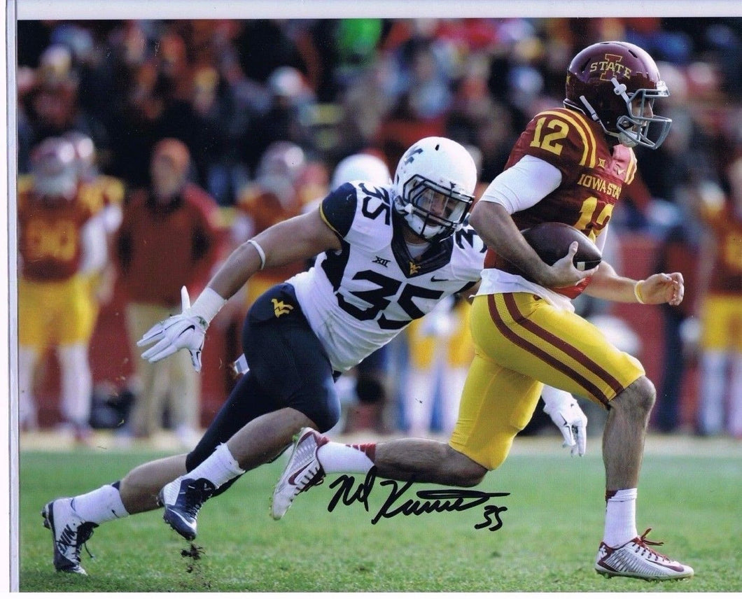 nick kwiatkoski, wvu football, chicago bears