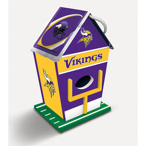 Minnesota Vikings Birdhouse