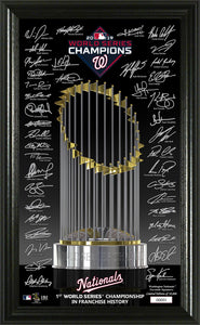 Washington Nationals 2019 World Series Champions Signature Trophy