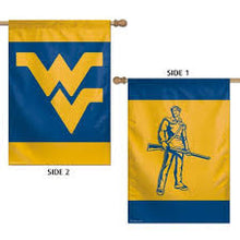 "West Virginia Mountaineers Double Sided Flag 28""x40"""