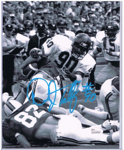 Darryl Talley West Virginia Mountaineers Signed 8x10 Photo JSA