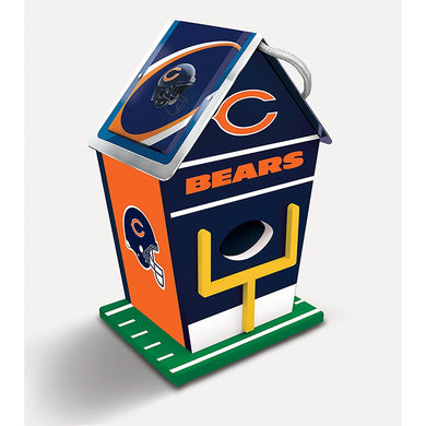 Chicago Bears Birdhouse