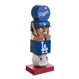 la dodgers, los angeles dodgers tiki totem