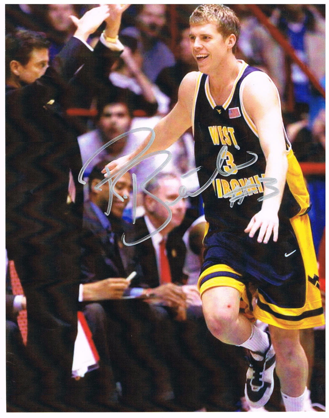 Pat Beilein West Virginia Mountaineers Signed 8x10 Photo