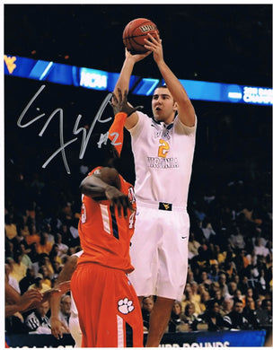 wvu basketball, cam thoroughman autograph