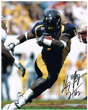 wvu football, kay jay harris autograph