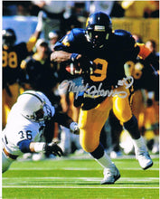 wvu football, major harris autograph