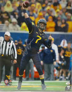 Will Grier West Virginia Mountaineers Signed 16x20 Photo #3