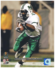 NCAA football collectible Ahmad Bradshaw Marshall University signed 8x10 photo from Sports Fanz