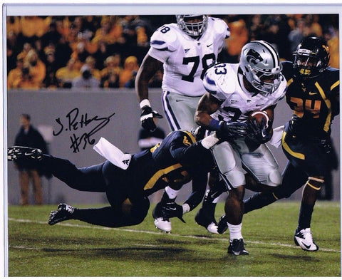 SHAQ PETTEWAY WVU MOUNTAINEERS SIGNED 8X10