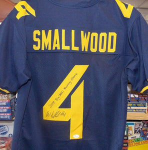 wvu football, wendell smallwood autographed jersey philadelphia eagles, wendell smallwood signature