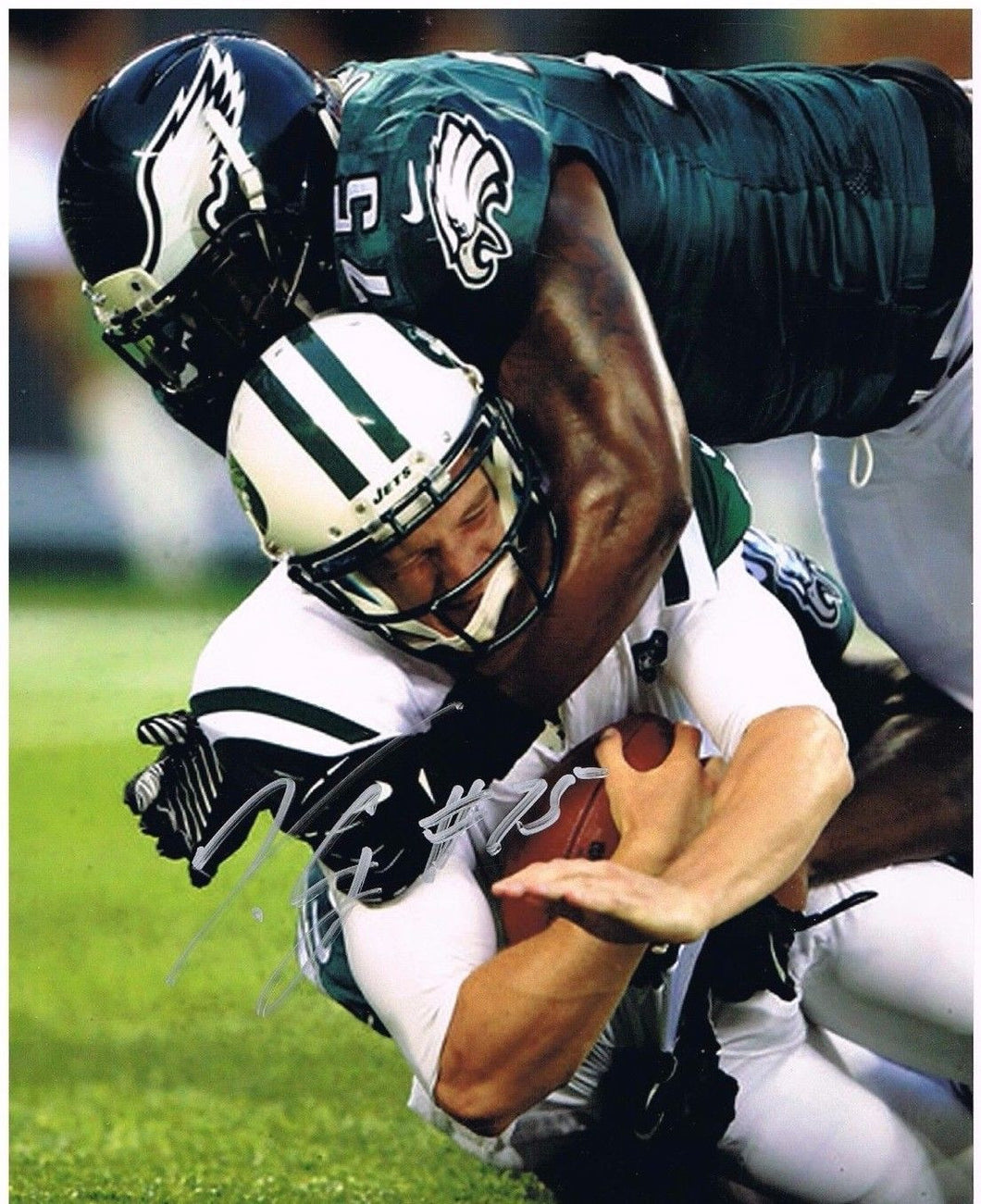 Vinny Curry Philadelphia Eagles Signed 8x10 Photo