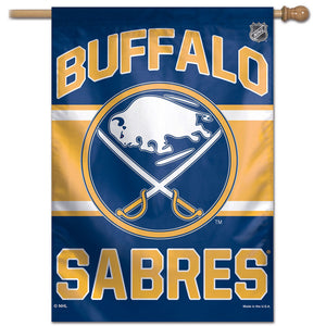 "Buffalo Sabres Vertical Flag 28""x40"""