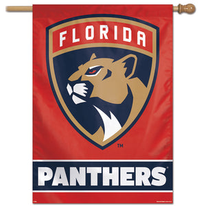 "Florida Panthers Vertical Flag 28""x40"""