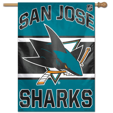 San Jose Sharks Vertical Flag 28