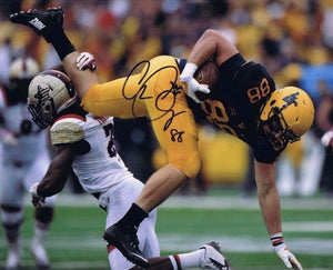 wvu football, cody clay autograph
