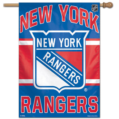 New York Rangers Vertical Flag 28