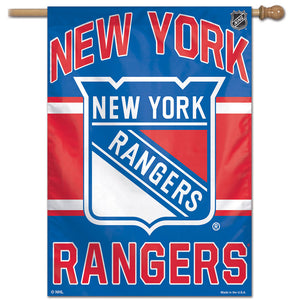 "New York Rangers Vertical Flag 28""x40"""