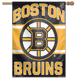 "Boston Bruins Vertical Flag 28""x40"""