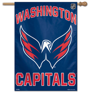 "Washington Capitals Vertical Flag 28""x40"""