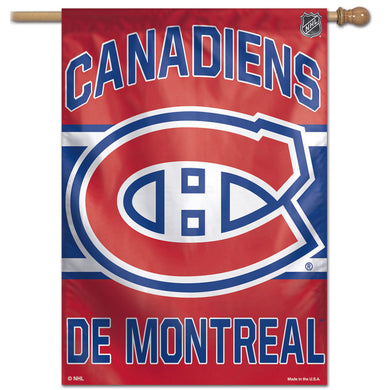 Montreal Canadiens Vertical Flag 28