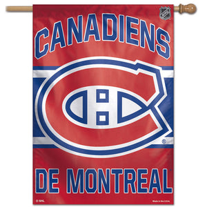 "Montreal Canadiens Vertical Flag 28""x40"""