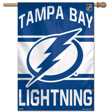 Tampa Bay Lightning Vertical Flag 28