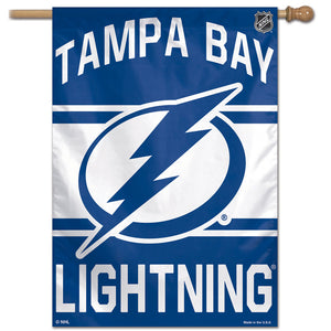 "Tampa Bay Lightning Vertical Flag 28""x40"""